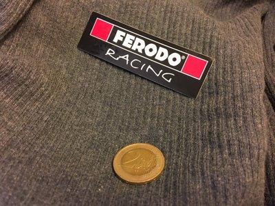 Ferodo 原廠貼紙