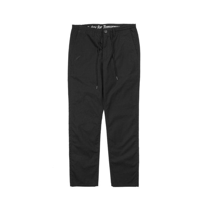 【GIANT MALL】PUBLISH 2018 STEEL PANTS 抽繩 修身 直筒 工作 長褲 黑色/綠色
