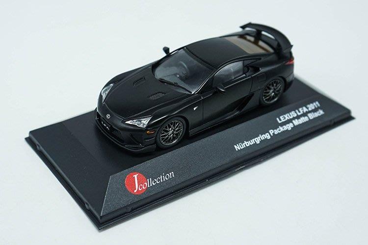 1:43 J-collection1:43  LEXUS LFA  Nurbrugring  汽車模型