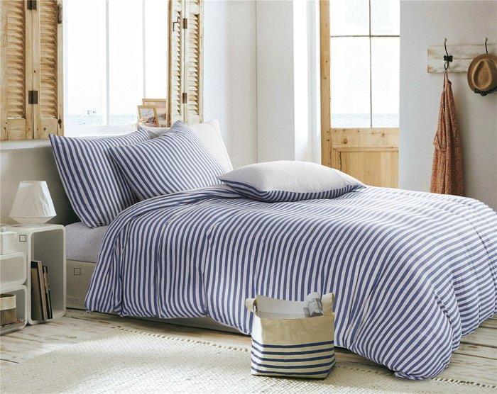 【生活搖籃】天竺棉床包組 加高單人加大3件組 色款可選 純棉針織 適合裸睡 簡約風格 日式經典款 高效吸濕透氣