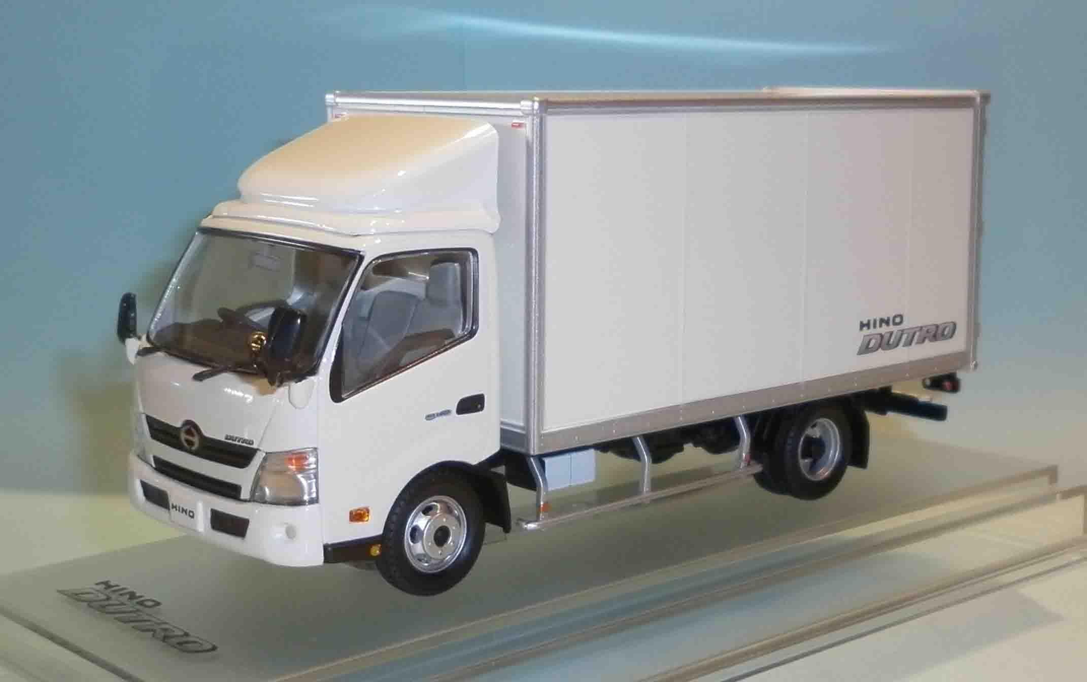 1/43 HINO DUTRO 廂式 貨車 絕版