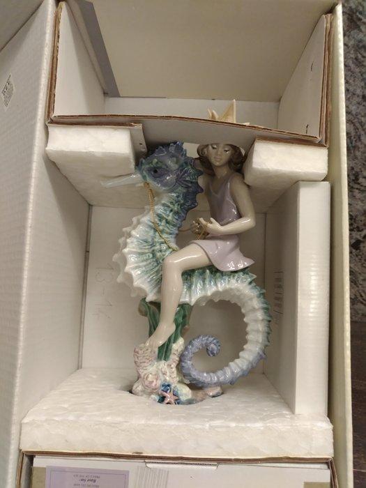 (現貨 ∼珍藏品割愛) 海王子 LLADRO 西班牙雅緻瓷偶 Lladró(1997年/ 限量2500件)/另有海公主