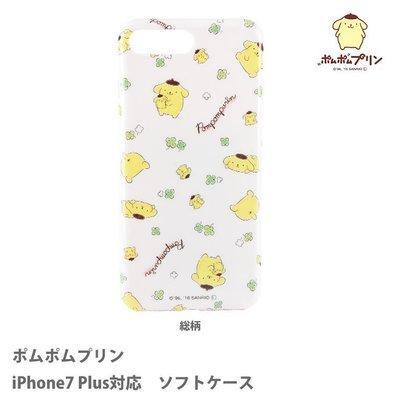 尼德斯Nydus 日本正版 三麗鷗 布丁狗 TPU軟殼 手機殼 iPhone6 5.5吋 iPhone7 Plus