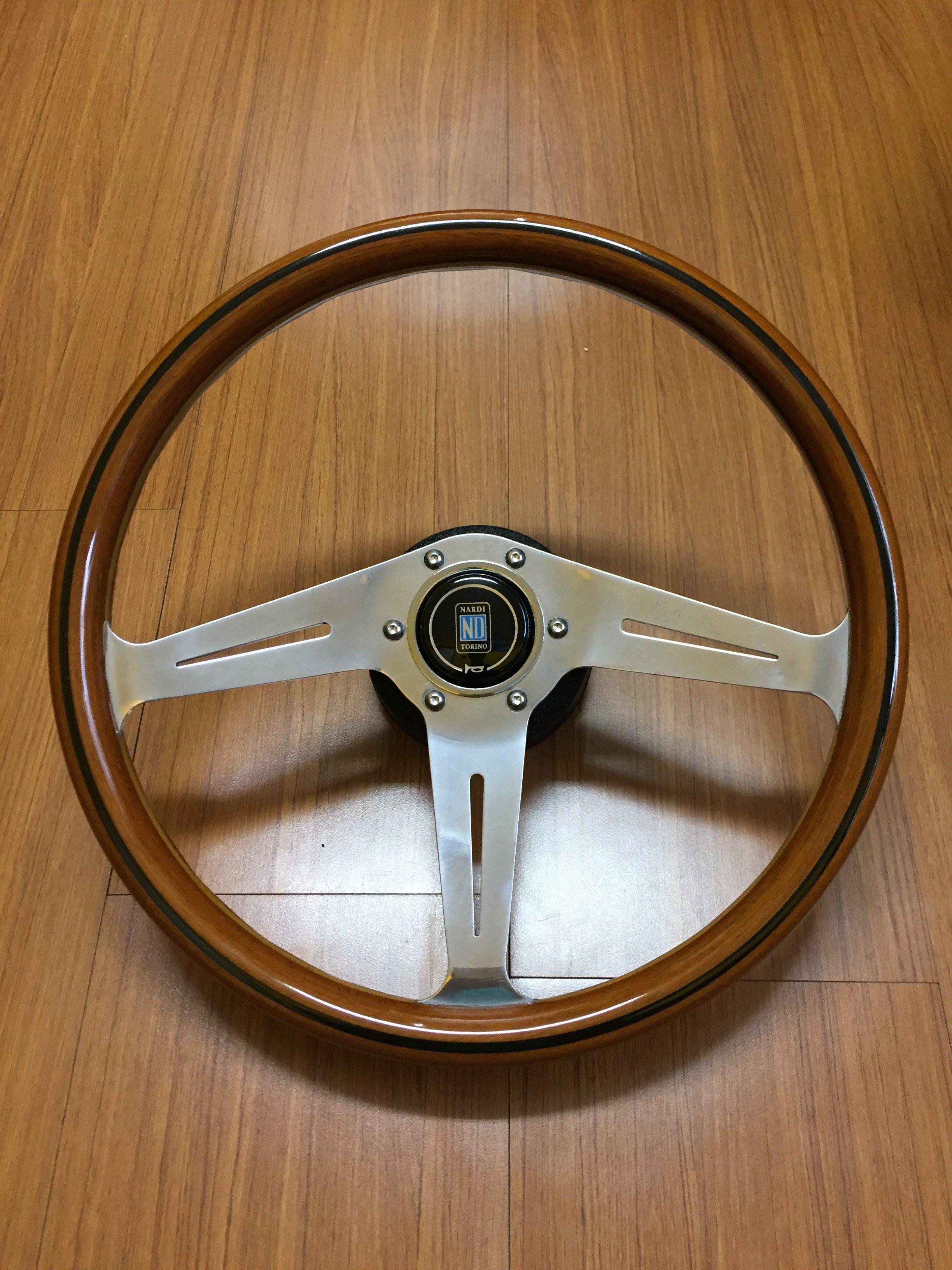 NARDI 360mm 絕版木製方向盤