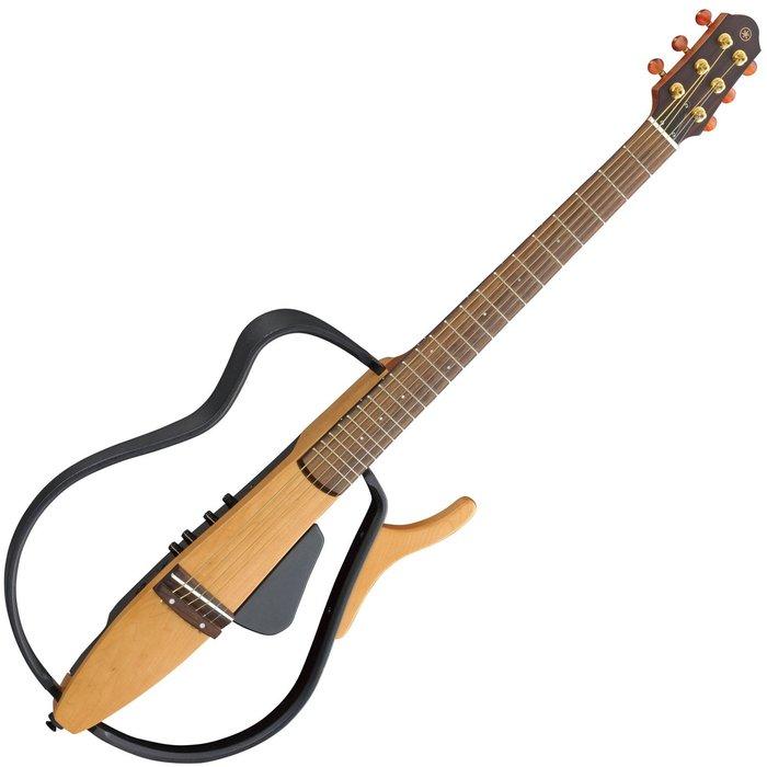【六絃樂器】全新 Yamaha SLG110S SLG 110 S 原木色靜音民謠吉他 / 現貨特價