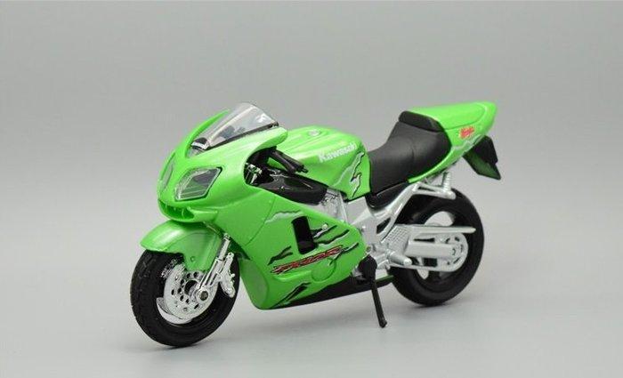 阿莎力 1:18 1/18 川崎 Kawasaki Ninja ZX-12R 美馳圖 Maisto 摩托車 重機 機車