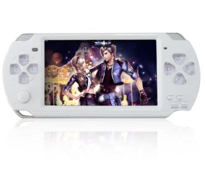 全新A10紫光掌上PSP遊戲機PSP高清 8GB 4.3寸 MP5 MP4播放器支援 GBA GBC FC SF4374