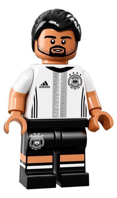 【LEGO 樂高】益智玩具 積木/ DFB 德國足球隊 人偶系列 71014 | 單一人偶: Khedira 背號:6號