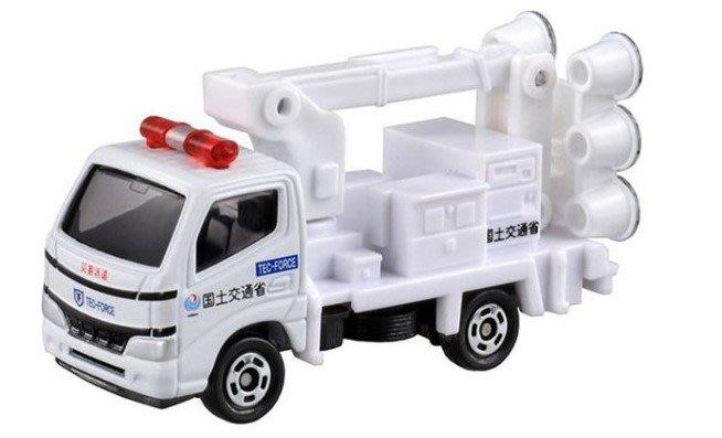 TAKARA TOMY TOMICA 多美小汽車 NO.32 國土交通省 照明車 照明裝置
