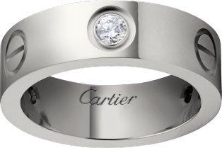 【JHT金宏總珠寶/GIA鑽石專賣】原裝Cartier鑽戒 卡地亞正版真品 #52