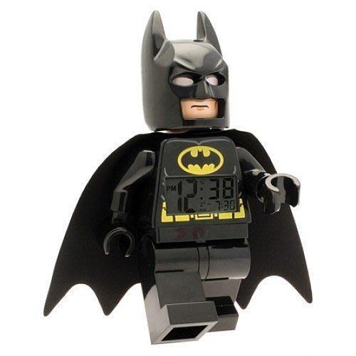 限量特價【LEGO 樂高 】全新現貨/ 蝙蝠俠鬧鐘 DC英雄聯盟 黑暗騎士 數字時鐘 Batman 人偶鬧鐘 公仔