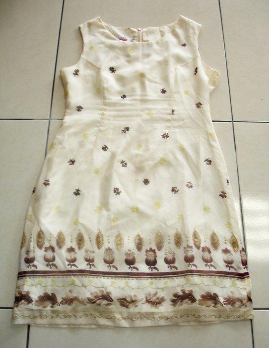 連身裙--采妮Tsaenee 無袖連身裙--九成新