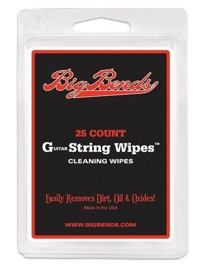 ☆ 唐尼樂器︵☆美製 Big Bends String Wipes 民謠吉他/電吉他/ Bass 琴弦清理布 (光頭喬愛用推薦)