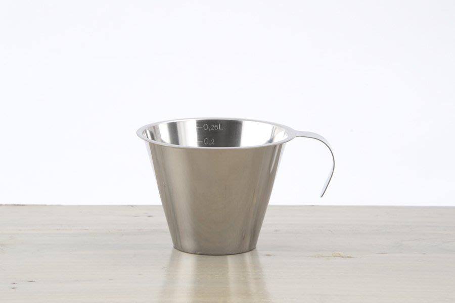【小胖日本代購】現貨 JONAS 不鏽鋼(18-10) 刻度 量杯 250ml ◎烘焙、料理適用◎瑞典製