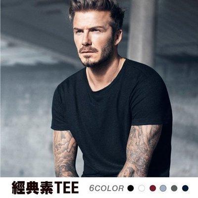 素面 圓領 短TEE 美式 T shirt 素面 T恤 Ovan
