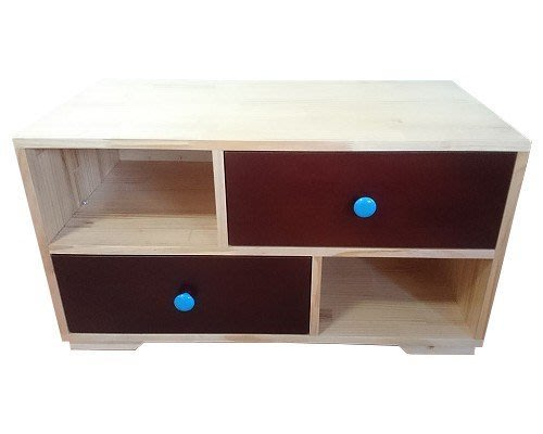 【森林原木手工家具】原木矮櫃