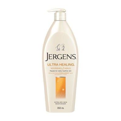 【Orz美妝】Jergens 珍柔 紫晶 潤膚乳液 身體乳 (極乾肌膚用) 650ML