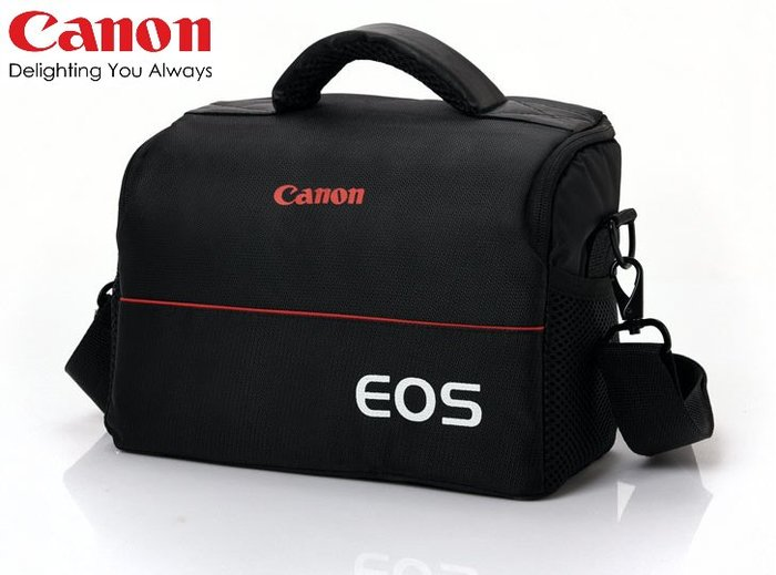 Canon 佳能 EOS 單眼相機包 相機包 M50 攝影包 相機包 一機二鏡 單肩包 側