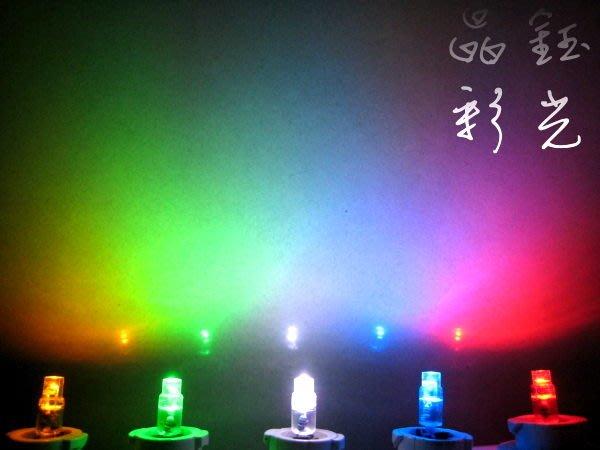 彩光LED 燈泡---T5 LED 儀表燈 排檔燈 轉速表 冷氣面板 按鍵燈 指示燈 HONDA T6.5 LED燈泡
