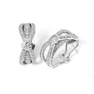 【JHT金宏總珠寶/GIA鑽石專賣】1.4ct克拉天然鑽石耳環/材質:PT(JB20-D4)