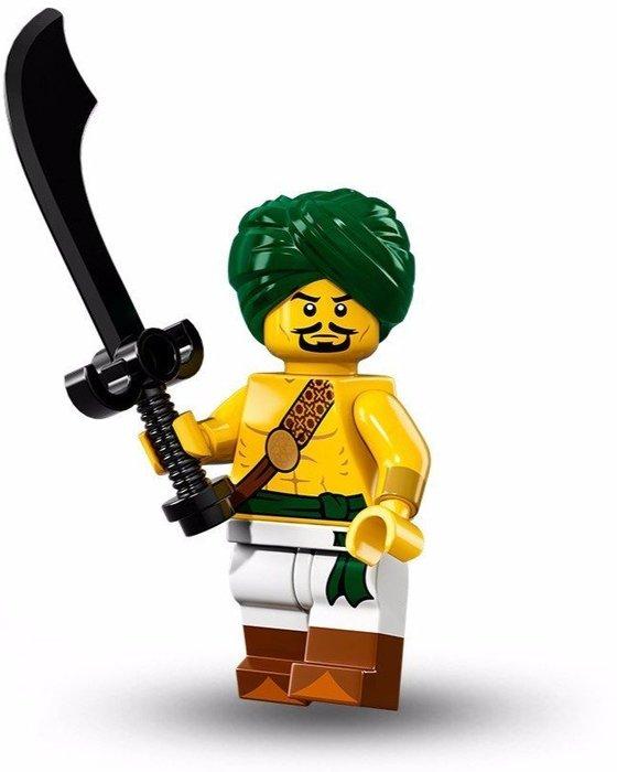 限量特價【LEGO 樂高】美國正品 積木/ Minifigures人偶包系列: 16代 71013 單一人偶: 沙漠戰士