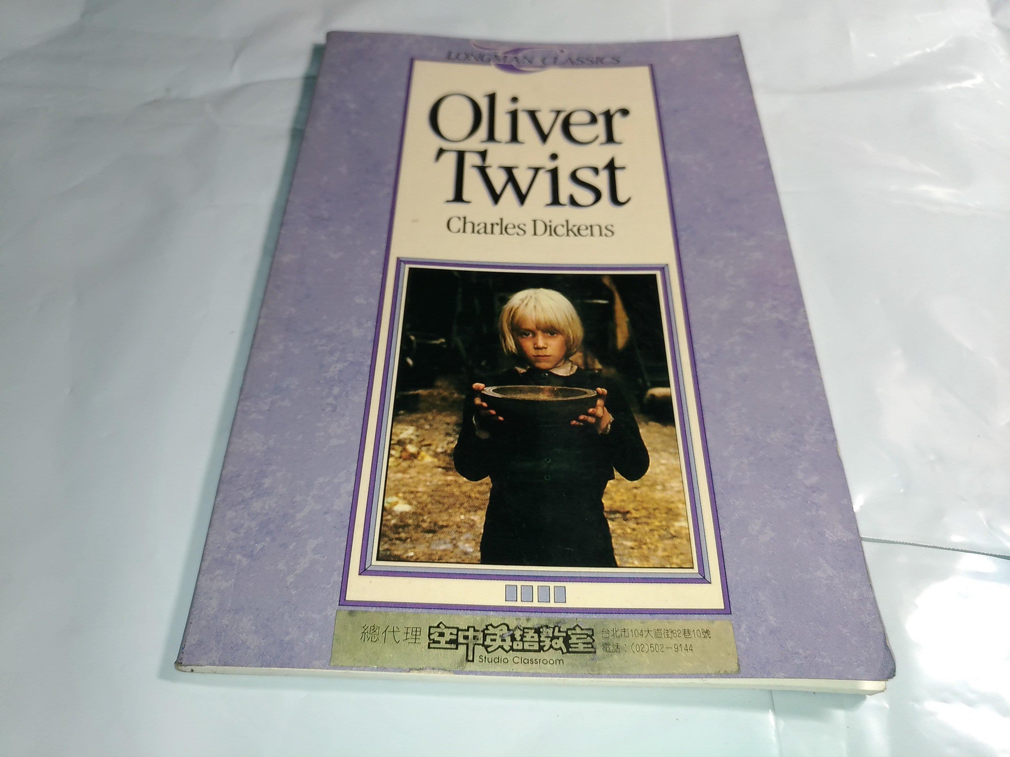原文小說《Oliver Twist Charles Charles Dickens》Longman Classics