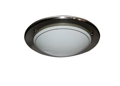 【蒂凡妮燈飾】簡約大方 LED12W玻璃吸頂燈 陽台燈