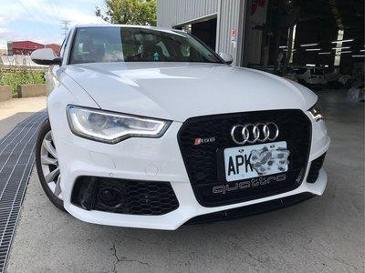 奧迪Audi A6 S6 改RS6保桿