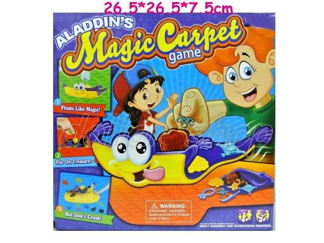 寶貝玩具屋二館~~盒玩~閤家歡遊戲/緊張刺激磁力飛天小毯桌面遊戲組1251