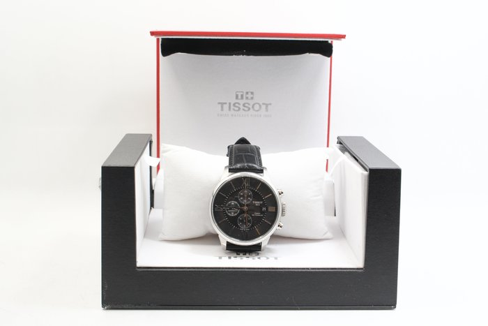 【高雄青蘋果3C】天梭 Tissot T0994271605800 杜魯爾經典計時機械腕錶 男錶  #24425