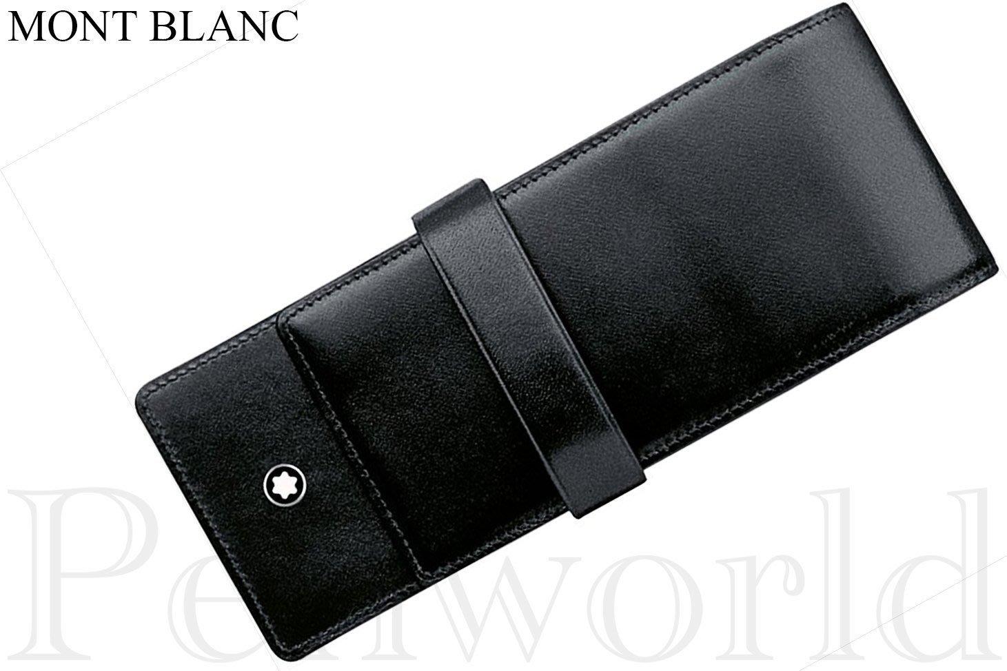 【Pen筆】Mont Blanc萬寶龍 3支入筆套黑 (14313)