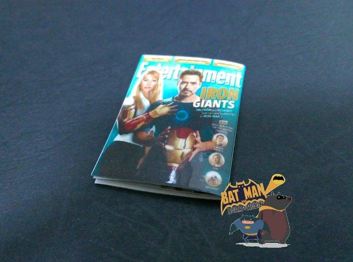 熊拍賣  1 6 東尼與小辣椒雜誌模型 雜誌 1:6 鋼鐵人三蟻人星際大戰星戰BVS死侍