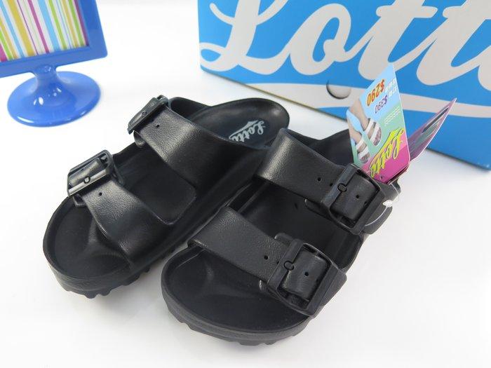 【iSport愛運動】LOTTO 防水 拖鞋 全新 LT6AWS380- 共四色 黑/白(尺碼至28CM)