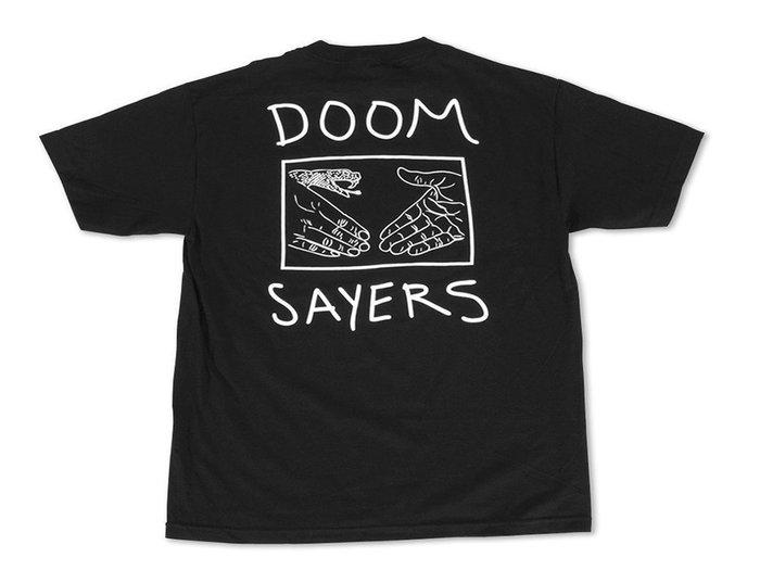《Nightmare 》DoomSayers Club Snake Shake Pocket Tee - Black