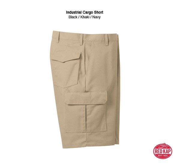 GOODFORIT / 工作品牌RED KAP 日本限定支線抗污抗汗處理高耐磨棉材中版腰線剪裁工作短褲