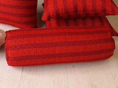 【3折】 抱枕 (45 x 直徑 18)【雙喜-圓】 -麗塔寢飾-