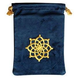 蓮花心鑽圖騰天然棉絨塔羅珍藏袋