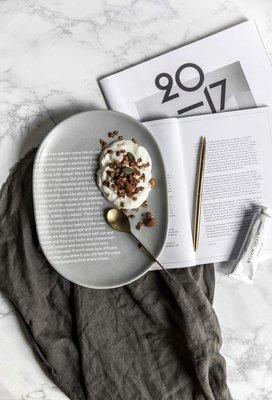 Meiprunus △ 原創 設計 陶瓷 餐盤 可進微波爐 水果盤 西餐 餐盤