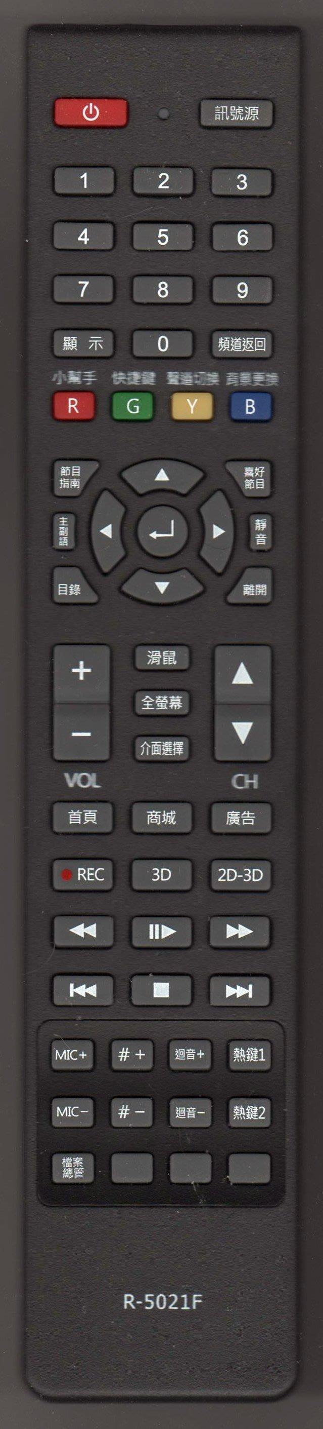 【遙控王】HERAN禾聯液晶電視原廠遙控器_適用R-5013F、HD-50UDF2、HD-50AC2 (LD)