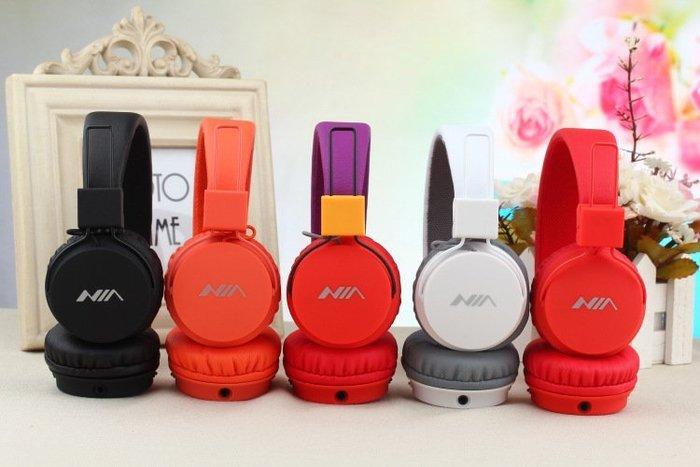 NIA-A1頭戴式耳機 可接聽拒絕來電 手機線控耳機1236