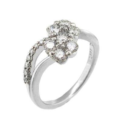 【JHT金宏總珠寶/GIA鑽石專賣】0.777ct天然鑽石戒指/材質:18K(JB43-A21)