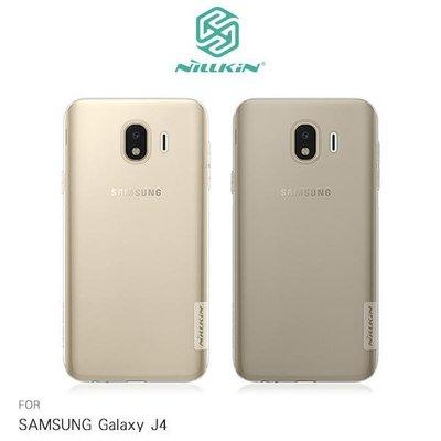 *phone寶*NILLKIN SAMSUNG Galaxy J4 本色TPU軟套 手機套 超薄果凍套 透色套 保護殼
