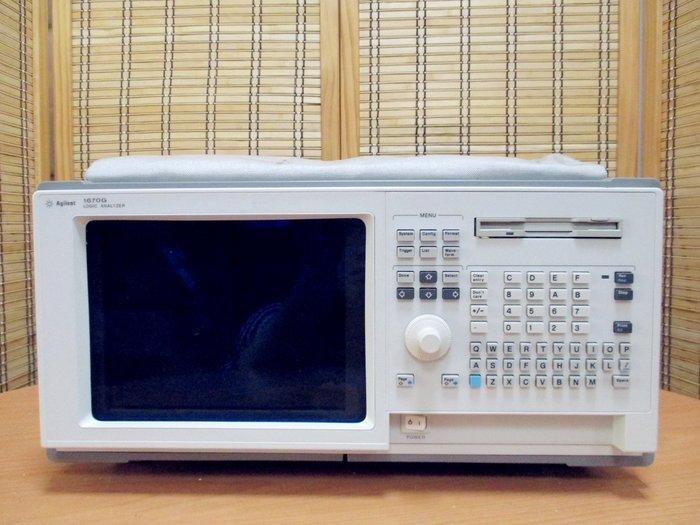 康榮科技二手儀器領導廠商Agilent 1670G 136Ch 500MHz Logic Analyzer 邏輯分析儀