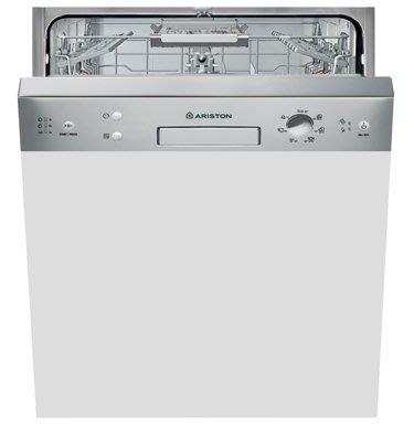 唯鼎國際【義大利Ariston洗碗機】7M116不鏽鋼控制面板半嵌型洗碗機