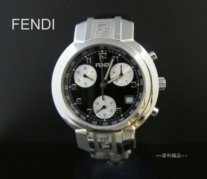 【摩利精品】FENDI 計時錶*大型款* 低價特賣