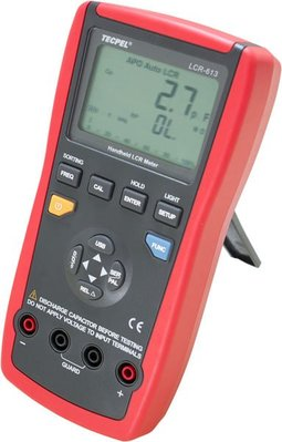 TECPEL 泰菱》LCR613 LCR 錶 最大19999位數 電感 電容 電阻 LCR-613 掌上型4 1/2