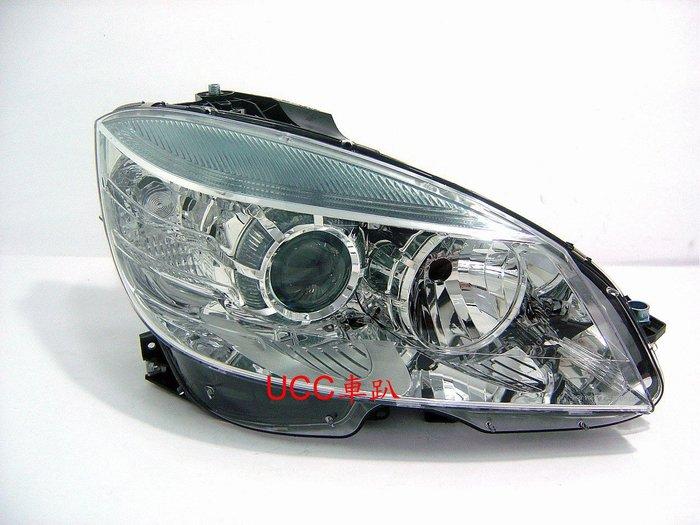 【UCC車趴】BENZ 賓士 W204 07 08 09 10 11 原廠型 歐規 晶鑽大燈 (TYC製) 一邊3700