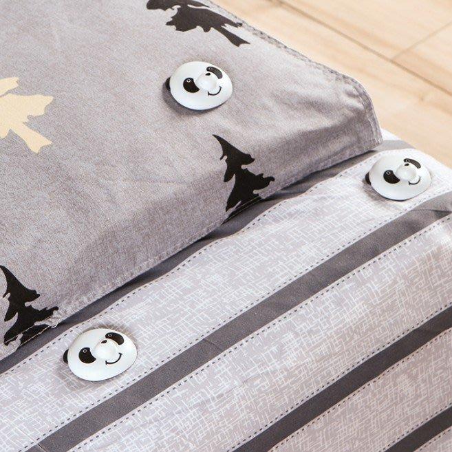 ☆╮布咕咕╭☆卡通被套防滑床單強力固定器 加厚防滑被套卡扣附磁力解扣器
