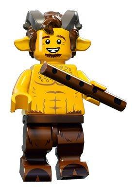 現貨【LEGO 樂高】積木/ Minifigures人偶系列: 15 代人偶包抽抽樂 71011 | 羊人 笛子 半獸人