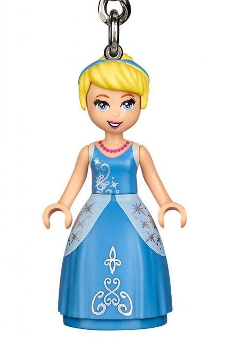 現貨【LEGO 樂高】全新正品 積木 鑰匙圈 人偶 吊飾 迪士尼 公主系列 | 灰姑娘 仙杜瑞拉 Cinderella